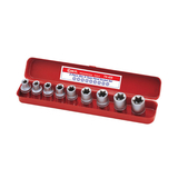 "Set tubulare 1/2"" Crom-Vanadium E-10 - E-24 Genius Tools"